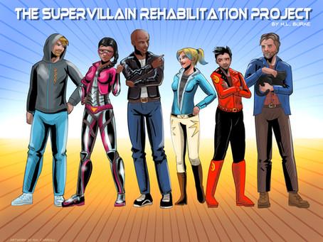Character Art!!! Supervillain Rehabilitation Project