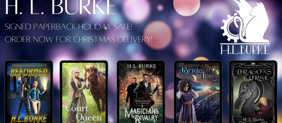 Holiday Signed Paperback Sale!