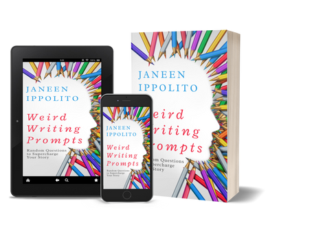 3 Questions with Weird Writing Prompts (blog tour)