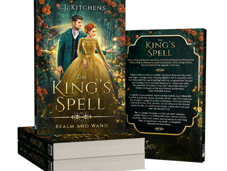 Cover Reveal: The King's Spell
