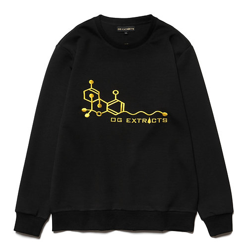 OG Embroidered Crewneck Sweater