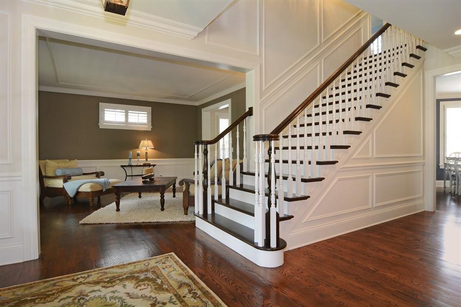 Maison du Foi stairs after