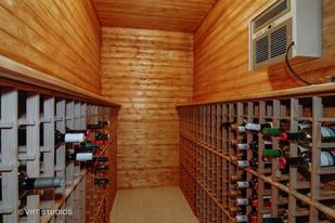 The Wentworth wine storage after