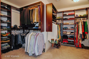 The Wentworth closet after