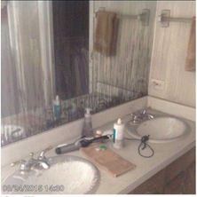 The Wentworth bathroom before