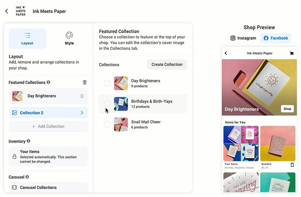 איך בונים חנות אינסטגרם איך בונים חנות פייסבוק