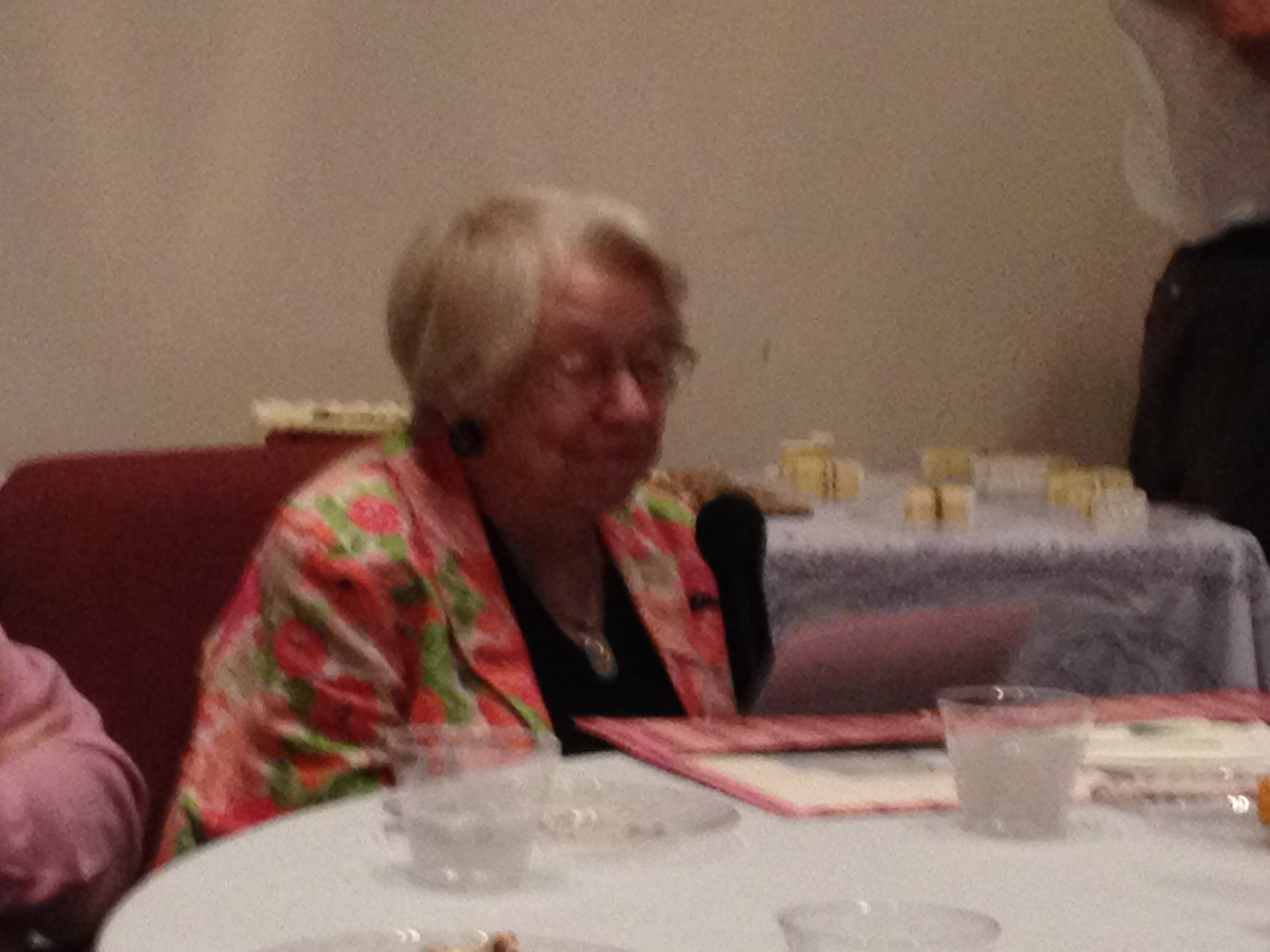 Rev. Jennifer's Reception - Miss Barbara.JPG