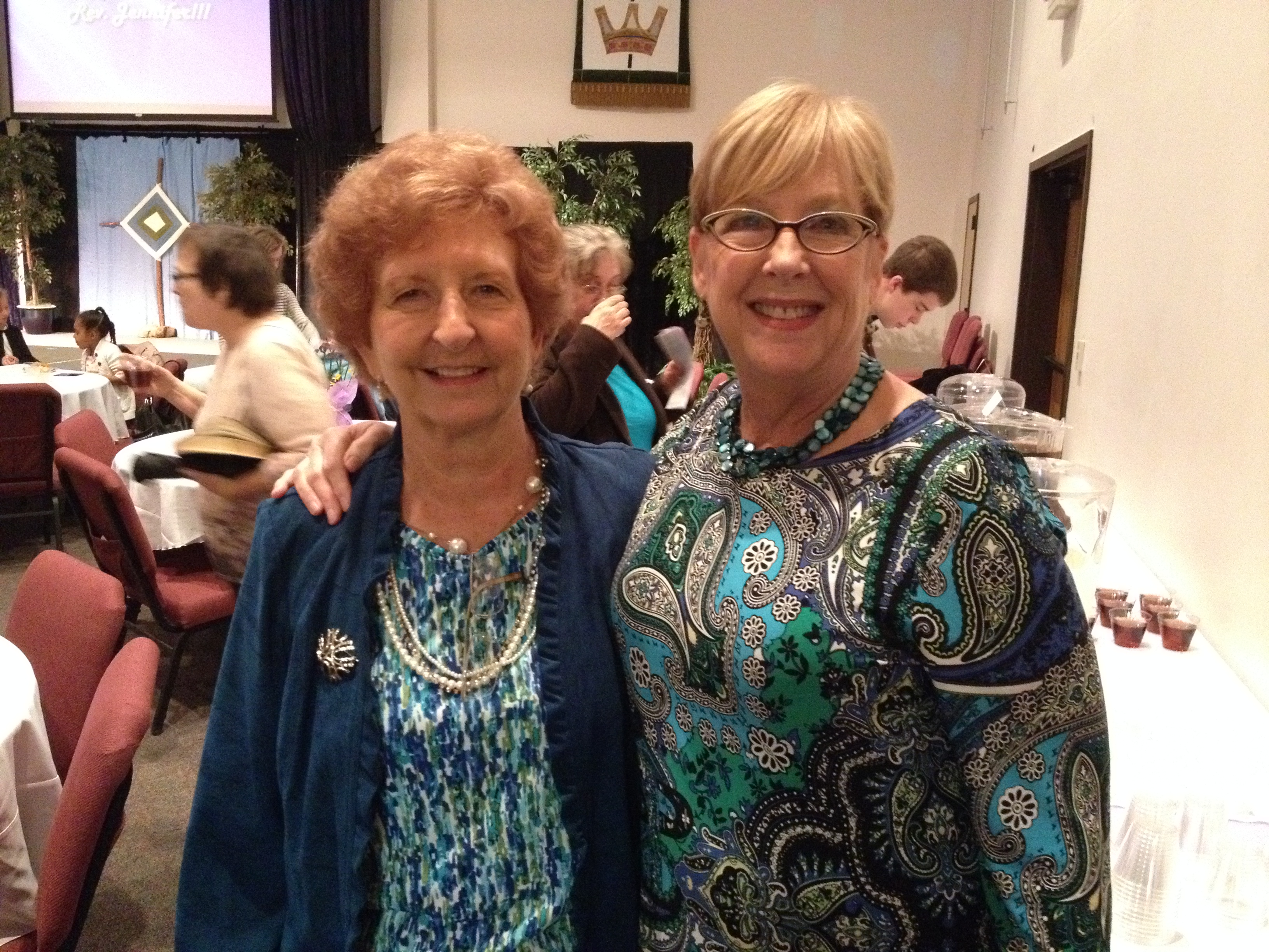 Rev. Jennifer Reception - Eleanor & Karen.JPG