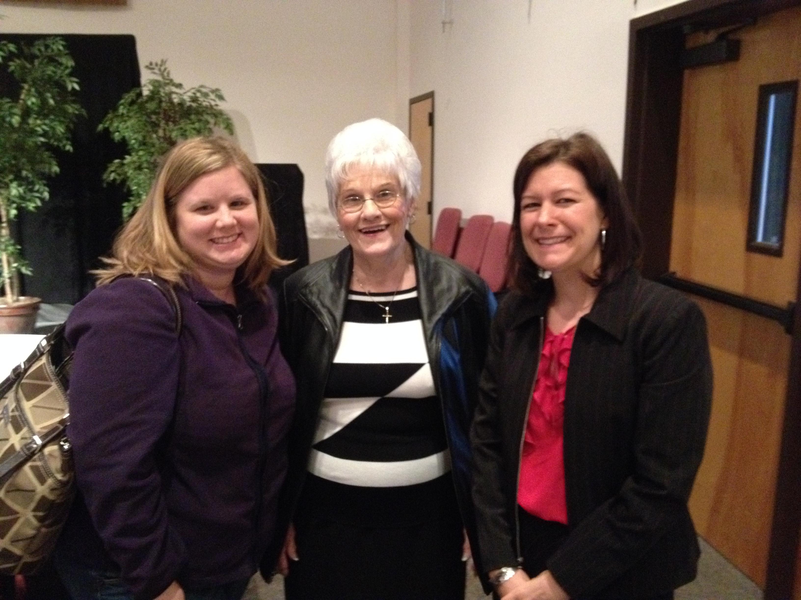 Rev. Jennifer's Reception - Miki, Evelyn, Brandy.JPG