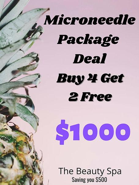 microneedling package deal buy 4 get 2 free 1000