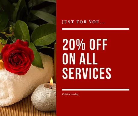 20% off all services!