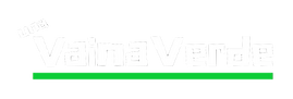 Una Vaina Verde - White Logo (No Slogan)