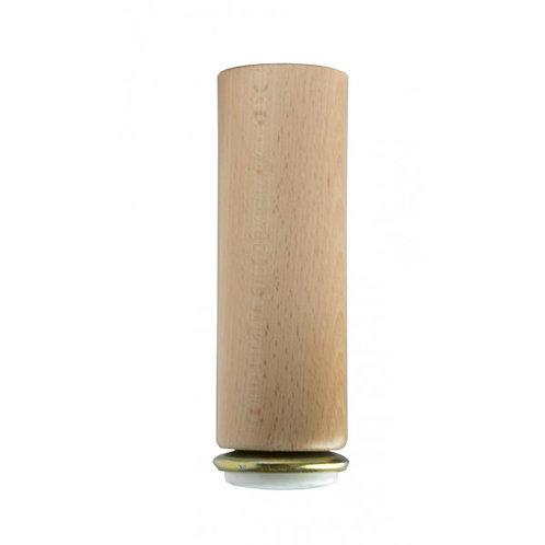 Piede cilindrico con Teflon H. 15 / 18 cm.