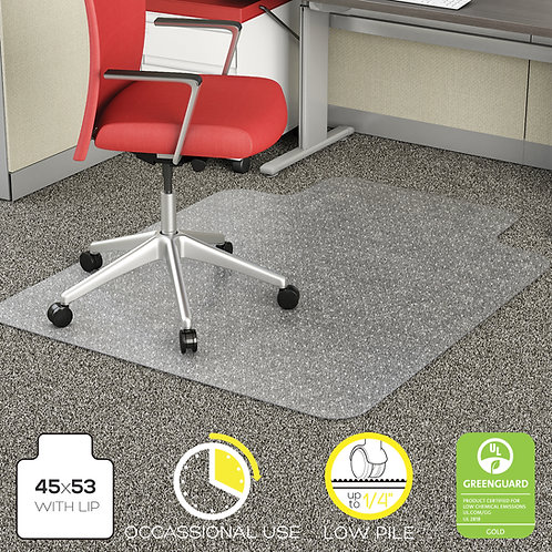 Deflecto Duramat Low Pile Carpet Chair Mat