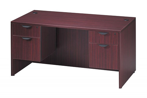 Classic Double Pedestal Desk