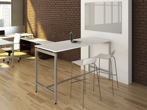Elements Gathering Table w/ Bistro Height U-Legs