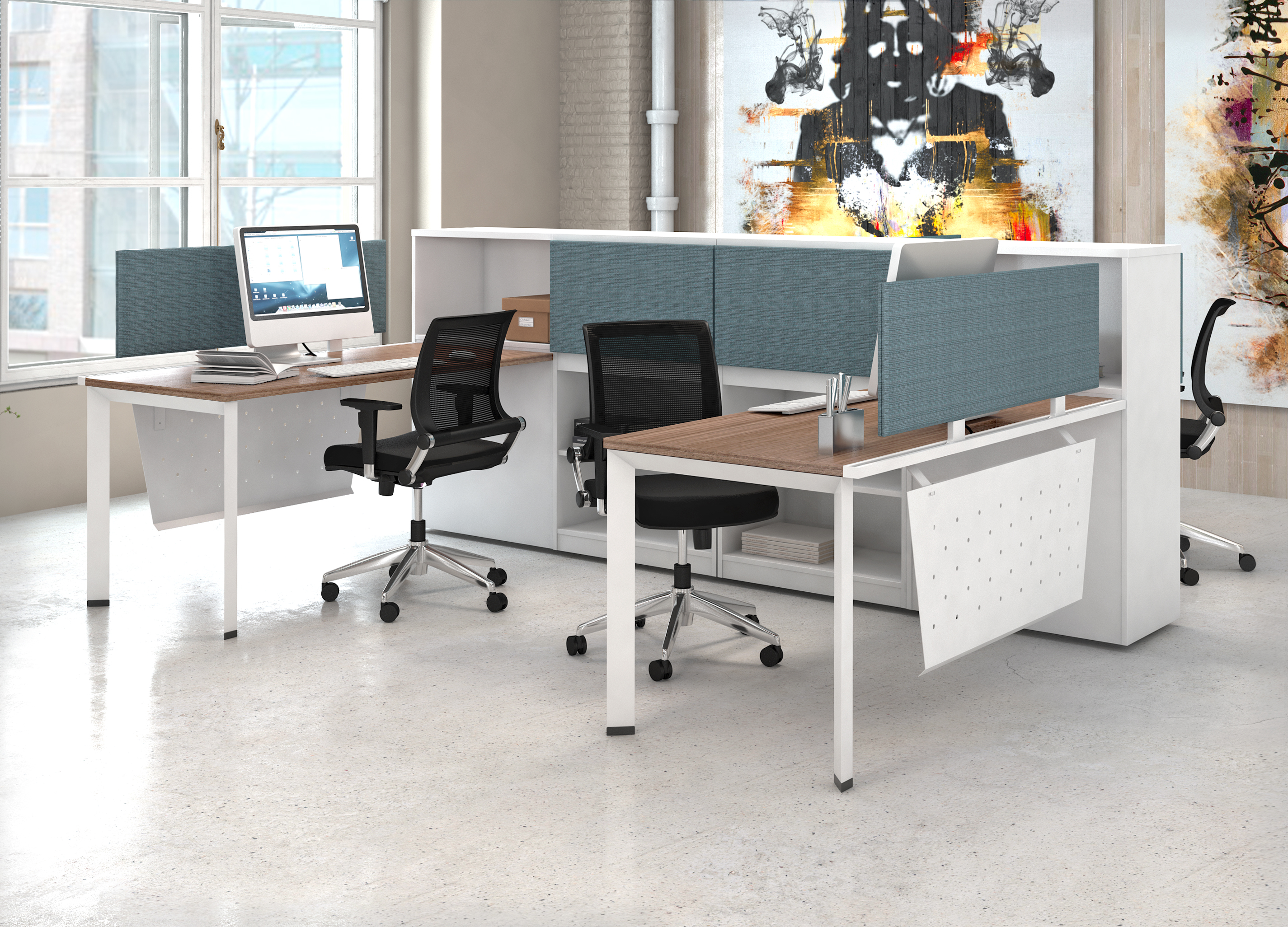 New Simple Clean Desking Solutions!