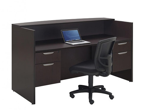Classic Reception Dual Pedestal Desk