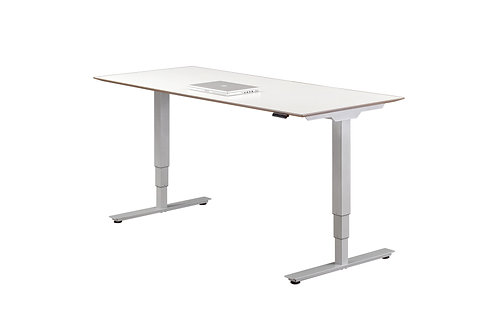 Bevel-Edge Top Electric Height Adjustable Desk
