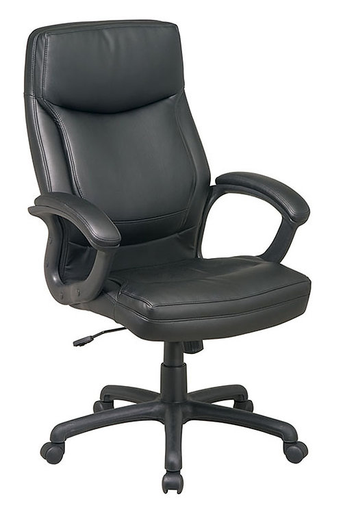 High Back Executive Chair w/ Two Tone Stitching