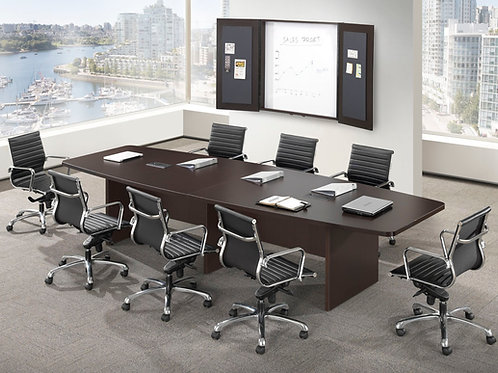 Classic Boat-Shaped Conference Tables
