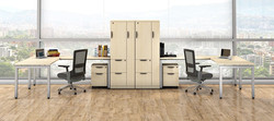 Maple Elements Desks