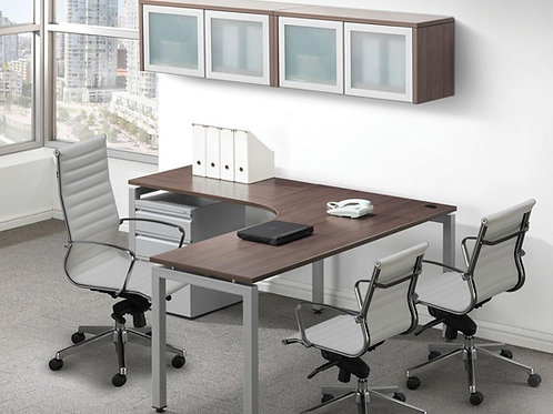 Elements Radius L-Shape Desk