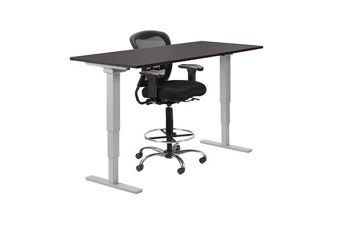 Classic Rectangular Electric Height Adjustable Desk