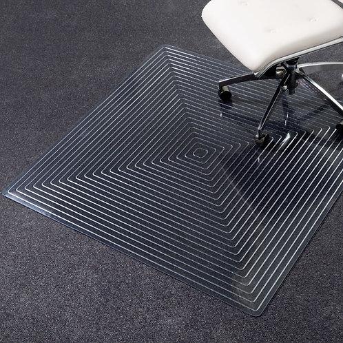 Dimensions Squared Chair Mat for Medium Pile Carpet