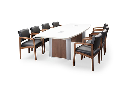 Classic Plus Boat-Shaped Conference Tables