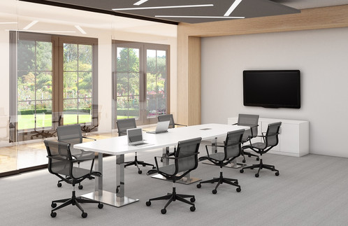Palmer BoatShaped Conference Tables - Affordable conference table