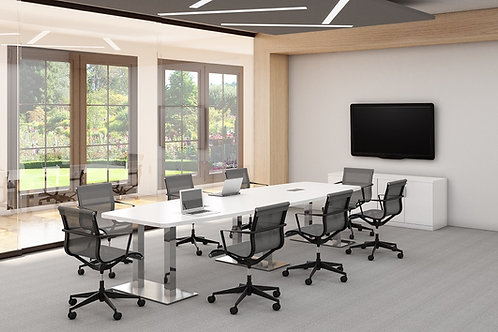 Palmer Boat-Shaped Conference Tables