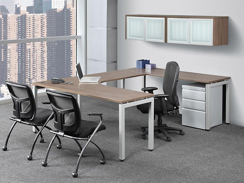 Elements Radius U-Shape Desk