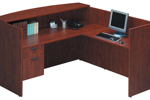 Classic Reception L-Shape Desk