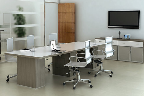 Maverick Series Rectangular Conference Table