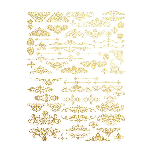 Gilded Ornate Flourish