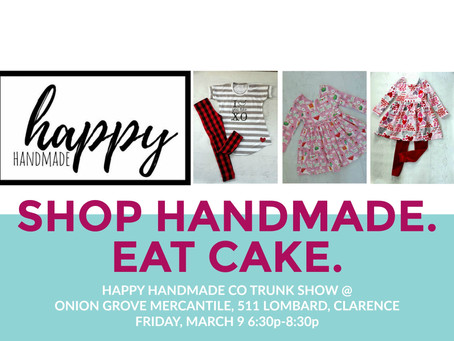 Happy Handmade Co Trunk Show