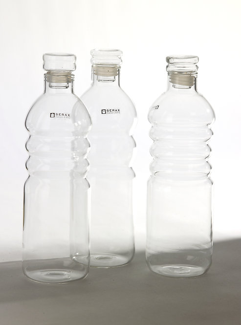 Glasflasche small mit Deckel von Serax