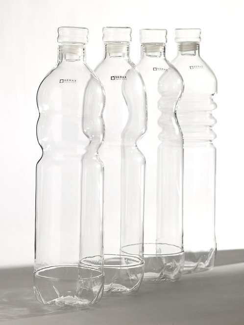 Glasflasche large mit Deckel von Serax