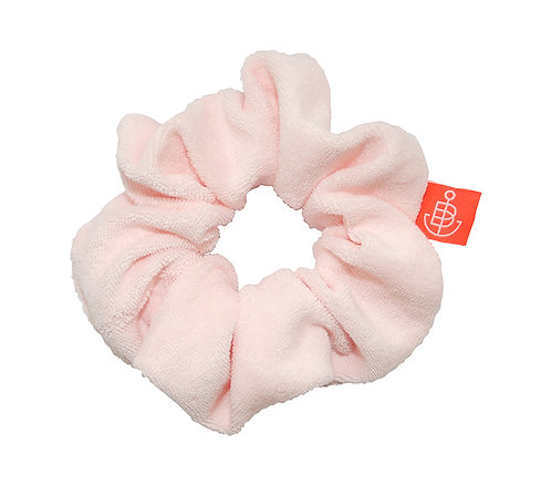 """Scrunchie """"Frottee"""" Pale Pink, Limited Summer Edition"""