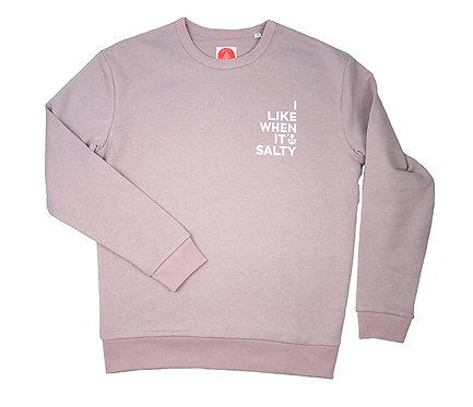 """Sweatshirt woman """"I like"""" Lila"""