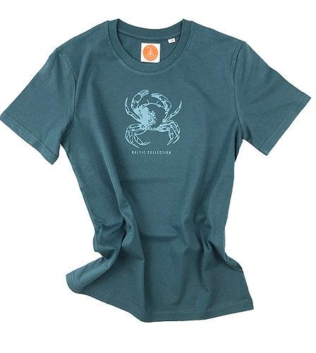 "T-Shirt Unisex ""Ostseekrabbe"" Biobaumwolle"