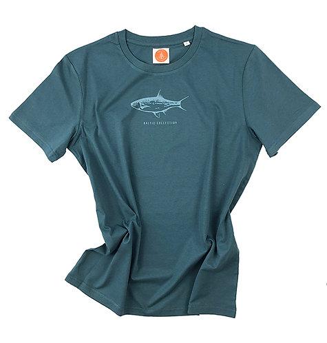 """T-Shirt Unisex """"Fisch"""" Biobaumwolle"""