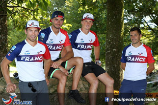 L'équipe de France Juniors