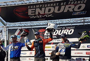 1er junior E2 - championnat de france d'enduro à Privas