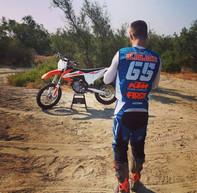 SX 450 ... Sand training