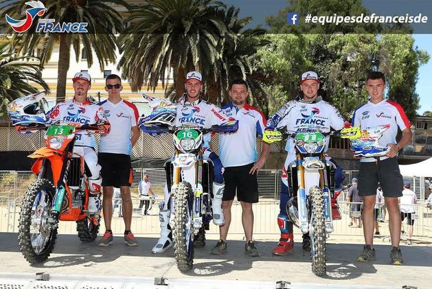 Junior French Team ISDE 2018
