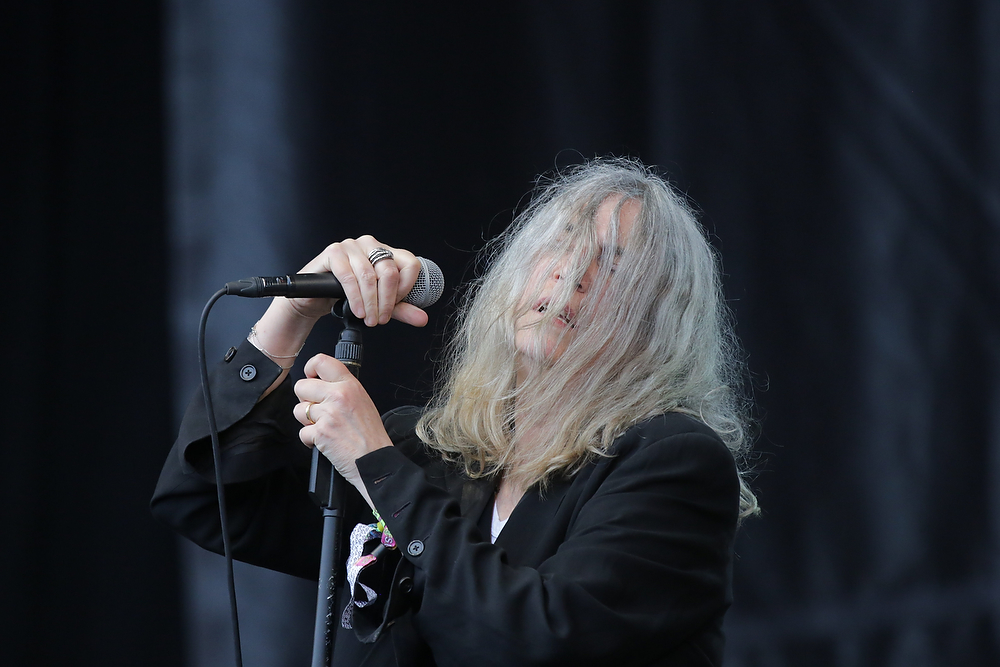 Patti Smith Glastonbury 2015