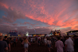 sunset leeds