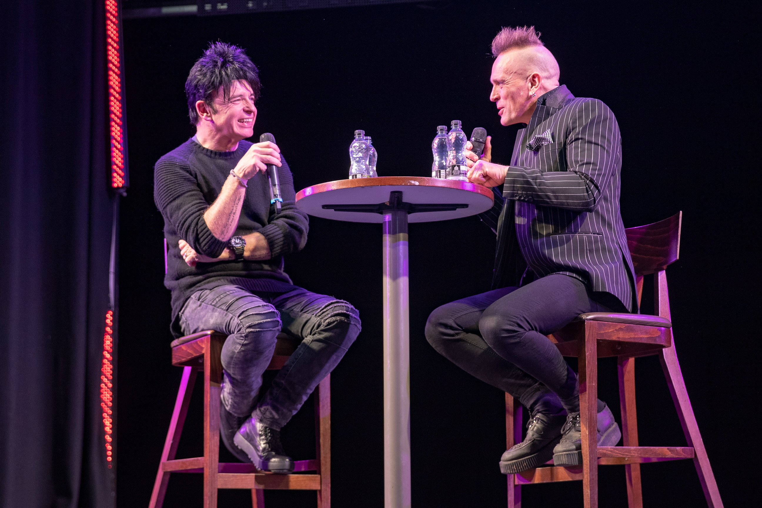 Gary Numan  in conversation